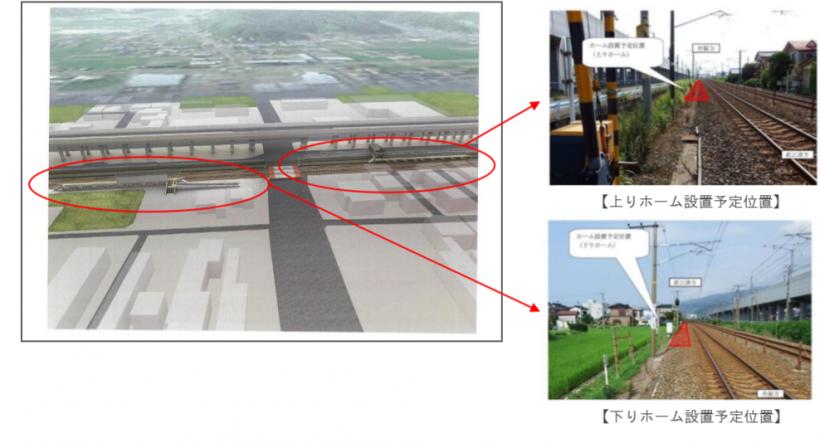 新潟県糸魚川市の2021年3月開業予定の「(仮称)押上新駅」の駅名 ...